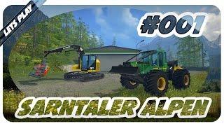 getlinkyoutube.com-LS15 SARNTALER ALPEN #001 - Sarntaler Forst GmbH | Let's Play Landwirtschafts Simulator 15