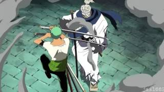getlinkyoutube.com-Brook & Zoro vs Ryuuma