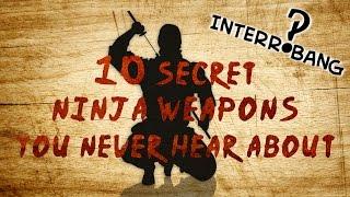 getlinkyoutube.com-10 Secret Ninja Weapons You Never Hear About