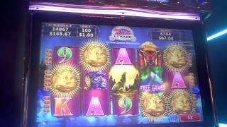 getlinkyoutube.com-Nothern Treasures Slot Machine BIG WIN Bonus