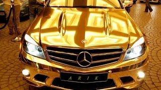 أغرب 10 أشياء صنعت من الذهب