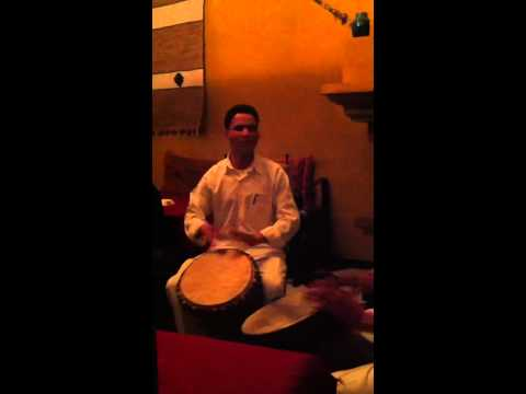 Morocco: jamming in the bar