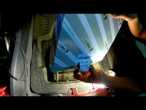 Как заменить фильтра салона Geely MK Cross
