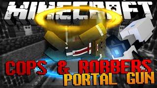 getlinkyoutube.com-Minecraft Modded Cops and Robbers Portal Mod w/ JeromeASF & Friends