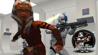 getlinkyoutube.com-Star Wars Battlefront II Mods (PC) HD: The Battles of the Clone Wars (ALPHA) - Tantive IV