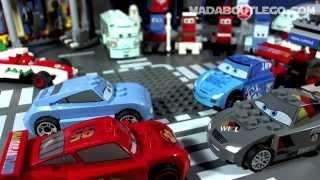 getlinkyoutube.com-LEGO DISNEY CARS ULTIMATE RACE SET 9485/66409