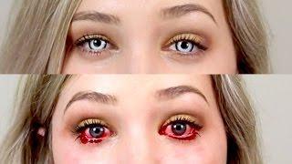 getlinkyoutube.com-DON'T BUY HALLOWEEN/CRAZY LENSES ONLINE* - How to buy and wear lenses safely