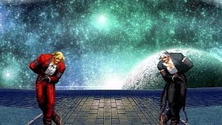 getlinkyoutube.com-[KOF WOJ] Rugal Bernstein vs Dark God Rugal