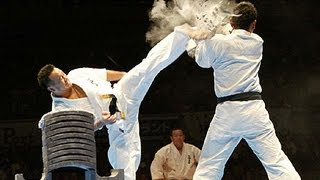 getlinkyoutube.com-【新極真会】代表・緑健児世界大会演武 SHINKYOKUSHINKAI : KENJI MIDORI KARATE ENBU