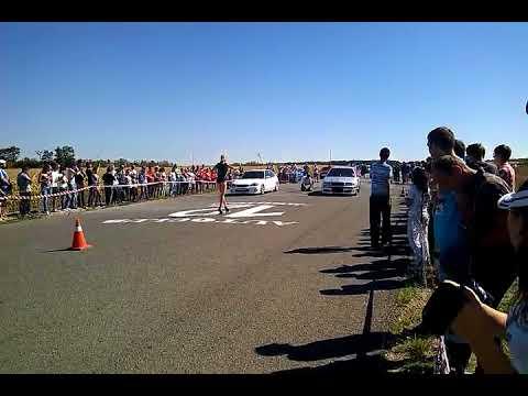 Skoda Octavia tour WTS 1.8t (stage 2) V.S. Honda Civic (b18с4) Drag Racing 402m