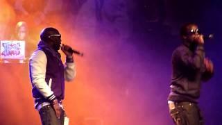 Youssoupha et S-Pi au concert de Sexion D'Assaut à L'Elysée Montmartre