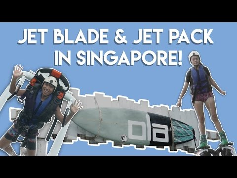 TRYING JET PACKS AND JET BLADES IN SINGAPORE?! | TSL Vlogs | EP 36