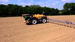 Challenger RoGator 600D in action