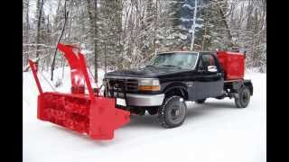 getlinkyoutube.com-Snowblower Truck- Stockholm Maine