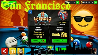 8 Ball Pool - San Francisco Tournament Amazing Gameplay + San Francisco Cue