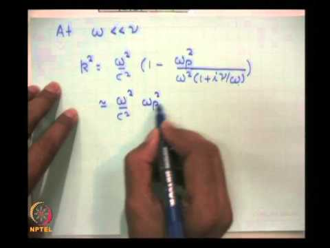 Mod-01 Lec-08 Electromagnetic Wave Propagation in Plasma Contd