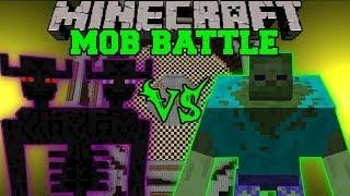 getlinkyoutube.com-MUTANT ZOMBIE VS ENDER TITAN - Minecraft Mob Battles - Mutant Creatures & Farlanders Mods