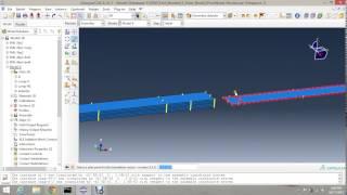 getlinkyoutube.com-Three Point Bend Test of Fiber Metal Laminates with cohesive surface Behaviour