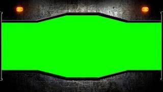 Metal Gate +sound (Greenscreen) FREE