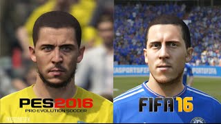 getlinkyoutube.com-PES 2016 vs FIFA 16 Chelsea Player Faces Comparison