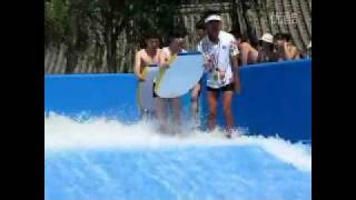 getlinkyoutube.com-Funny Water slide accident - Pretty Girl's swimwear came off