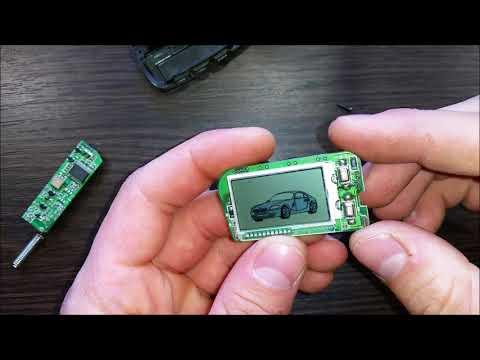 Простой ремонт брелока сигнализации