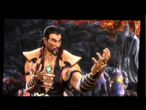 "Shang Tsung ""Your Soul Is Mine"" Mortal Kombat 9 MK9"