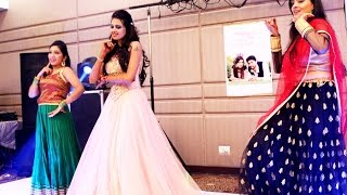 getlinkyoutube.com-sangeet dance performance - nikhila rajvi priyanka vinni cheenu