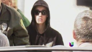 Justin Bieber quedó en libertad bajo fianza  -- Noticiero Univisión