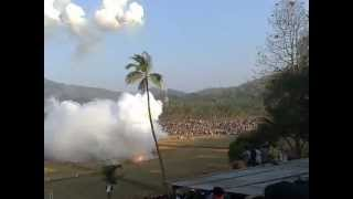 getlinkyoutube.com-Uthralikavu Pooram Fire Work 2013 (Wadakkanchery, Thrissur)