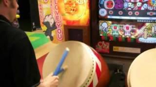 getlinkyoutube.com-Taiko no Tatsujin - Evangelion Theme - Oni 100%