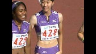getlinkyoutube.com-【放送事故】高校陸上中継・428番女子選手のモリマン形が浮き出る放送事故~画像集