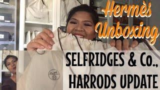 getlinkyoutube.com-HARRODS & SELFRIDGES UPDATE + HERMÈS UNBOXING 🍊