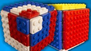 getlinkyoutube.com-Bandagable LEGO Rubik's Cubes!!