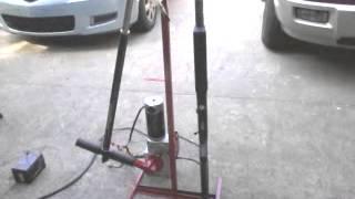 getlinkyoutube.com-Homemade PCP pump compressor