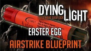getlinkyoutube.com-Dying Light Easter Egg | Airstrike Blueprint Location Tutorial
