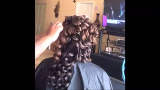 getlinkyoutube.com-Wand pin curls(must watch)