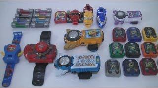 getlinkyoutube.com-파워레인저 다이노포스 엔진포스 또봇 스마트키 장난감 Power Rangers RPM Dino Charge Tobot Toys