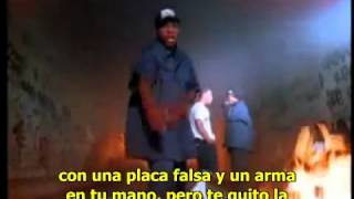 getlinkyoutube.com-Ice Cube and Nwa- Fuck The Police subtitulada español