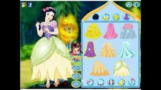 The Sweetest Princess Snow White Dress Up Game Preview