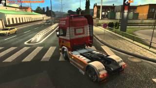 getlinkyoutube.com-Euro Truck Simulator 2 Scania V8 sound Version 2.0