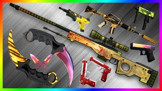getlinkyoutube.com-CS:GO My Inventory Loadout Showcase + Total Equipped Inventory Value (Best Dragon Lore EVER!)