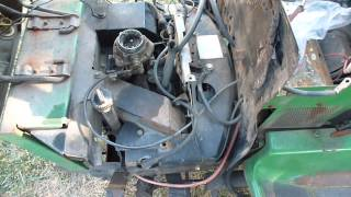 getlinkyoutube.com-John Deere 318 Onan Engine Differences B43G vs P218G