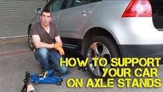 getlinkyoutube.com-How to Safely Support Your Car on Axle Stands