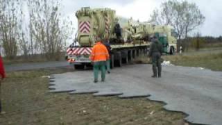 getlinkyoutube.com-115 t Fahrzeug über lockeren Boden