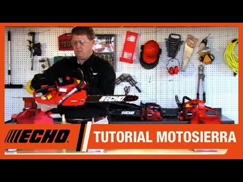 Motosierras ECHO - Consejos de mantenimiento y almacenamiento
