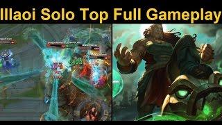 getlinkyoutube.com-Illaoi Top Full Gameplay - Juggernaut Illaoi Full Game Spotlight