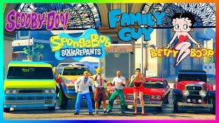 getlinkyoutube.com-GTA ONLINE ANIMATED CARTOONS SPECIAL - FAMILY GUY VS THE SIMPSONS, SOUTH PARK, SPONGEBOB & MORE!!