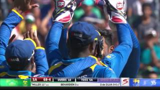South Africa vs Sri Lanka - 2nd T20 -   SA Innings Highlights