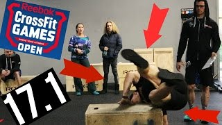 My FIRST CrossFit Open (Death By Box Jumps) 17.1